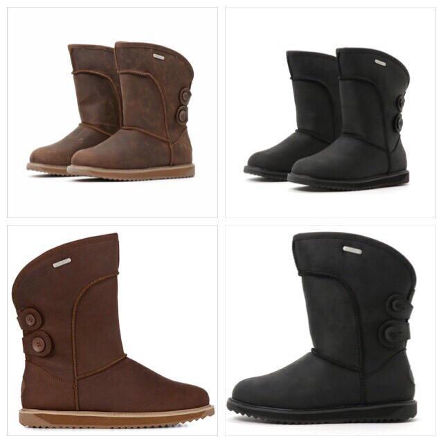EMU(エミュー)のemu CHARLOTTE LEATHER 新品未使用 レディースの靴/シューズ(ブーツ)の商品写真