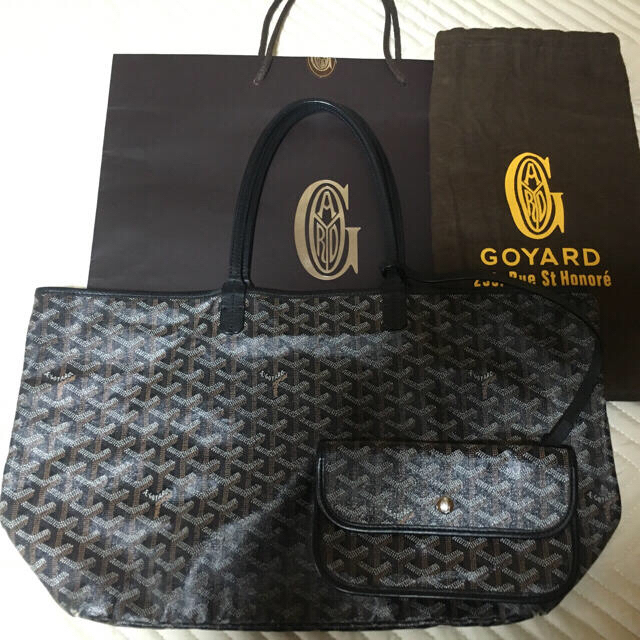 GOYARD(ゴヤール)のご専用*ゴヤール サンルイ PM ブラック レディースのバッグ(トートバッグ)の商品写真