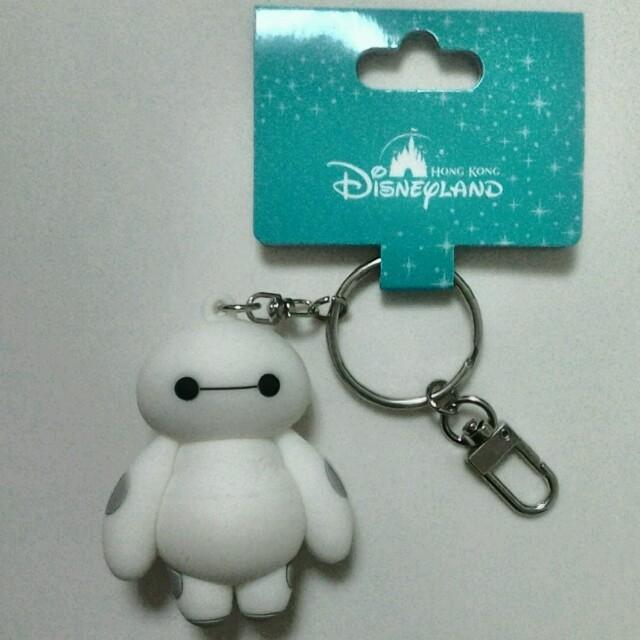 Disney(ディズニー)のベイマックスキーホルダー 香港ディズニーランド 新品未使用タグ付き エンタメ