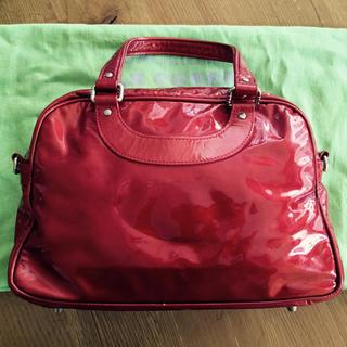 アッシュペーフランス(H.P.FRANCE)のTOM様専用✨ジャックルコー  エナメル レッド 赤 リスボン ミニ✨(ショルダーバッグ)