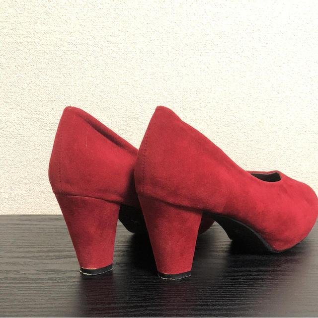 スエードパンプス レディースの靴/シューズ(ハイヒール/パンプス)の商品写真