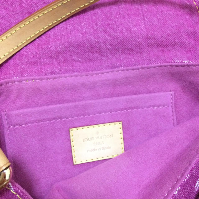 LOUIS VUITTON(ルイヴィトン)の美品 ルイヴィトン ミニプリーティ ピンク レディースのバッグ(ハンドバッグ)の商品写真
