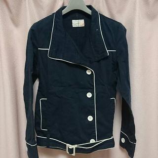 シマムラ(しまむら)のショートトレンチコート☆美品☆ジャケット(スプリングコート)