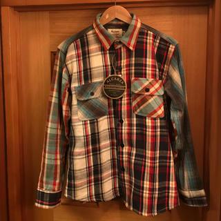 ビームス(BEAMS)のalcarza ヘビーネルシャツ 中綿シャツ セット売り(カバーオール)