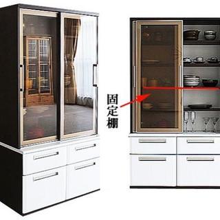 新品 幅100cmのダイニングボード 日本製(キッチン収納)