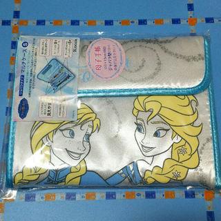 ディズニー(Disney)のマルチケース「アナと雪の女王」シルバー(母子手帳ケース)
