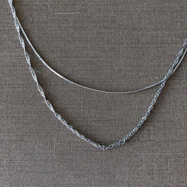 IENA SLOBE(イエナスローブ)のダブルチェーンロングネックレス レディースのアクセサリー(ネックレス)の商品写真