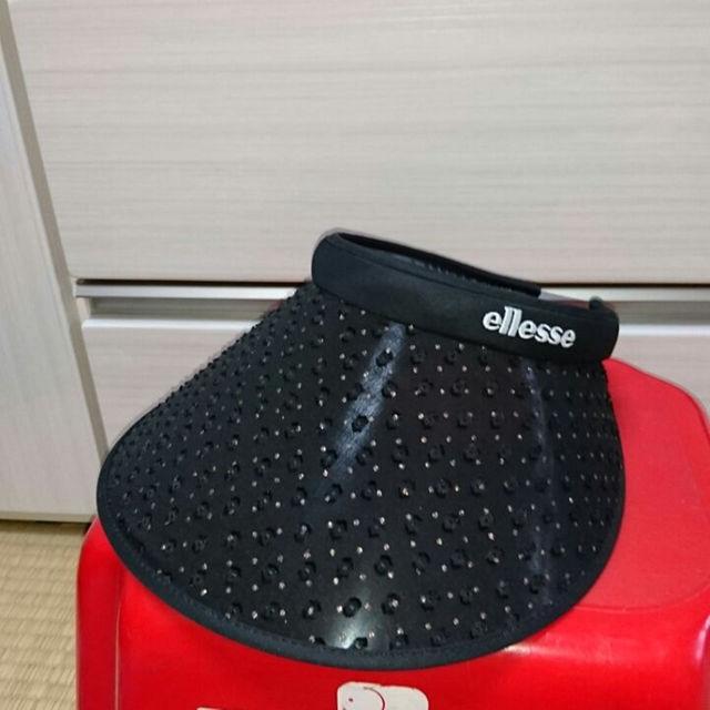 ellesse(エレッセ)のエレッセ サンバイザー レディースの帽子(その他)の商品写真