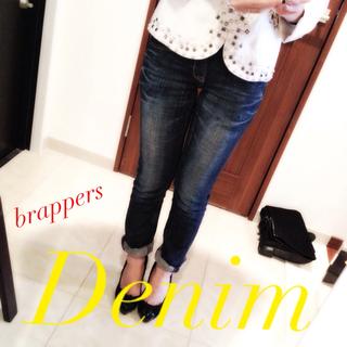 brappers 美品デニム ストレート(デニム/ジーンズ)