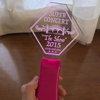 SHINee ペンライト SUPER CONCERT The Show 2015(アイドルグッズ)