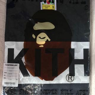 アベイシングエイプ(A BATHING APE)のsサイズ Box Logo tee kith bape bathing ape(その他)