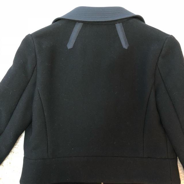 LOUIS VUITTON(ルイヴィトン)のルイヴィトン ショートジャケット 黒 34サイズ レディースのジャケット/アウター(テーラードジャケット)の商品写真
