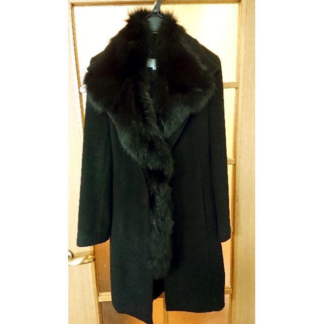 ESPRITMUR エスプリミュール ブルーフォックスファーコート レディースのジャケット/アウター(毛皮/ファーコート)の商品写真