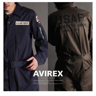 アヴィレックス(AVIREX)のアヴィレックス 70周年記念 ネイビーオールインワン(サロペット/オーバーオール)
