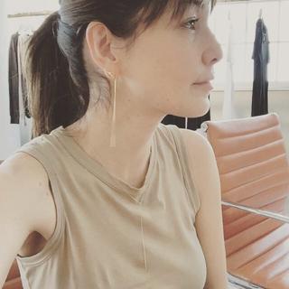 エナソルーナ(Enasoluna)のリヨン様専用♡♡イエローゴールド Yネックレス♡(ネックレス)