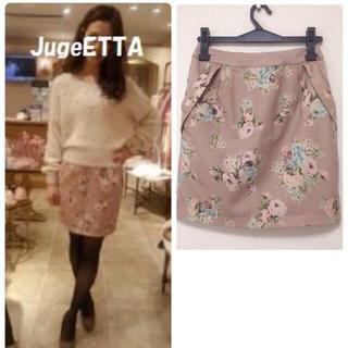 リズリサ(LIZ LISA)のジュジュエッタ☆花柄タイトスカート(ミニスカート)