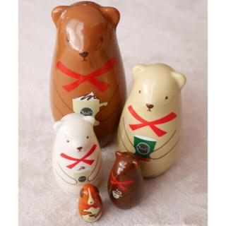 タリーズコーヒー(TULLY'S COFFEE)の♡マトリョーシカ クマ♡(置物)