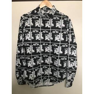 ボーイロンドン(Boy London)のBOY LONDON 長袖 シャツ Mサイズ 完売品(シャツ)