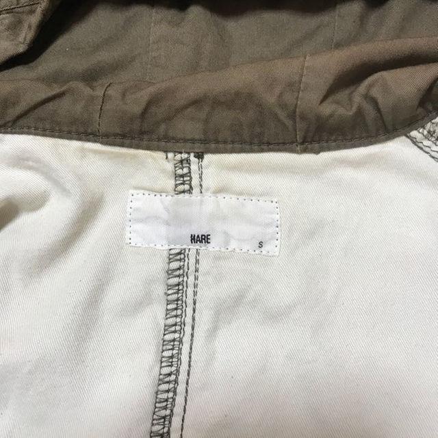HARE(ハレ)のミリタリー ジャケット/コート HARE ハレ Sサイズ メンズのジャケット/アウター(ミリタリージャケット)の商品写真