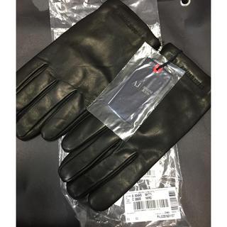 アルマーニジーンズ(ARMANI JEANS)のアルマーニジーンズレザーグローブ新品未使用(手袋)