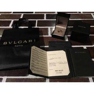 ブルガリ(BVLGARI)のBVLGARI 最終値下げ! ブルガリ 指輪 リング 美品(リング(指輪))