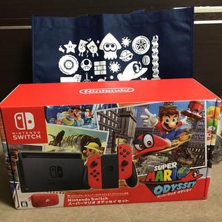 ニンテンドースイッチ(Nintendo Switch)のニンテンドースイッチ スーパーマリオ オデッセイセット(家庭用ゲーム機本体)