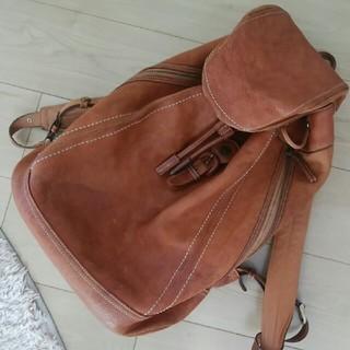 ツチヤカバンセイゾウジョ(土屋鞄製造所)の土屋鞄 リュック 使用感あり(バッグパック/リュック)