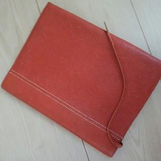 ツチヤカバンセイゾウジョ(土屋鞄製造所)の土屋鞄 ノートカバー 使用済み 茶色(ブックカバー)