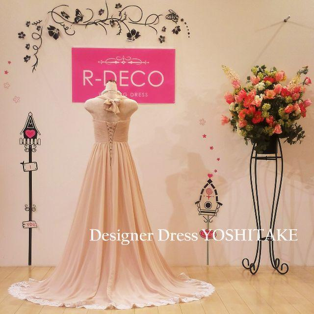 ウエディングドレス/マタニティードレス 1着で何通りものご着用可能! レディースのフォーマル/ドレス(ウェディングドレス)の商品写真