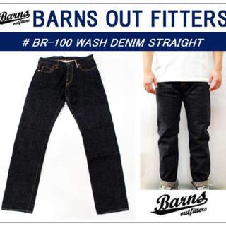 バーンズアウトフィッターズ(Barns OUTFITTERS)の【BARNS】13.5OZ 1 WASH DENIM【新品】(デニム/ジーンズ)