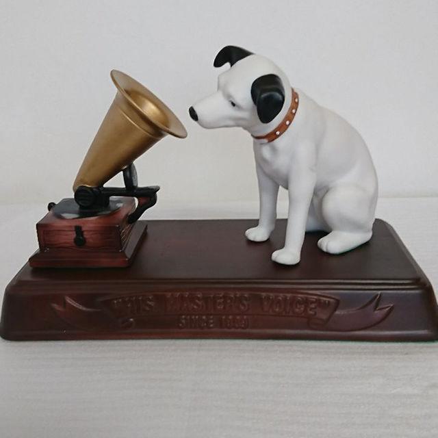 ビクター ニッパー犬 置物の通販 by TK's shop|ラクマ