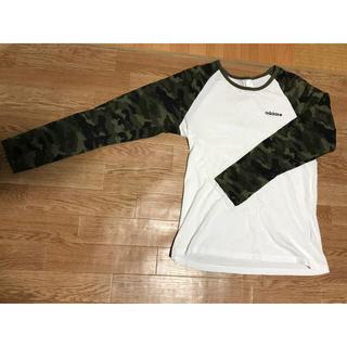 アディダス(adidas)のadidas 迷彩Tシャツ(Tシャツ/カットソー(七分/長袖))