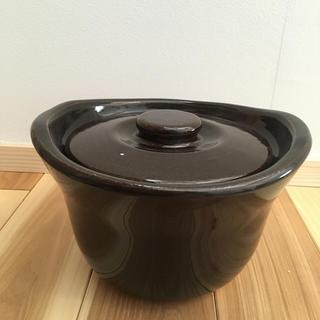 ムジルシリョウヒン(MUJI (無印良品))の無印良品 土釜おこげ 3合炊き(調理道具/製菓道具)