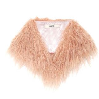 ファーファー(fur fur)のファーティペット(マフラー/ショール)