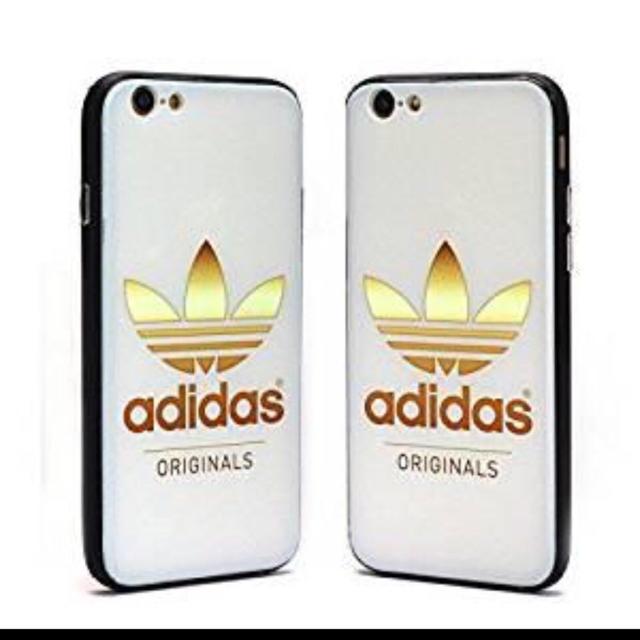 adidas - adidas iphone7/iphone8 ケース ホワイトの通販 by kuri's ...