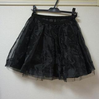 マーキュリーデュオ(MERCURYDUO)のオーガンジースカート♡(ミニスカート)