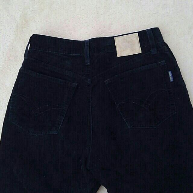 BLUE WAY(ブルーウェイ)のBLUE WAY ジーンズ(黒・Sサイズ) メンズのパンツ(デニム/ジーンズ)の商品写真