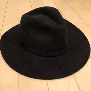 エイチアンドエム(H&M)のH&M エイチアンドエム ハット ツバ広 帽子(ハット)