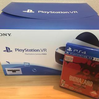プレイステーションヴィーアール(PlayStation VR)のうえちん様専用:PSVR(カメラ付き)+バイオ7(家庭用ゲーム機本体)