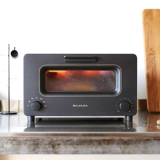 BALMUDA(バルミューダ)のBALMUDA The Toaster バルミューダ スチームオーブントースター スマホ/家電/カメラの調理家電(調理機器)の商品写真