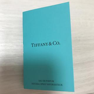ティファニー(Tiffany & Co.)のTIFFANY&Co.   香水サンプル(香水(女性用))