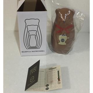 タリーズコーヒー(TULLY'S COFFEE)のマトリョーシカ&ビーンズポイントカード 9ポイント(置物)