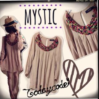 ミスティック(mystic)のmystic/ワンピース(ひざ丈ワンピース)