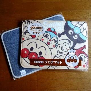 キャラ集合&お風呂トイレお部屋玄関◆ アンパンマン フロアマット&バスマット(その他)