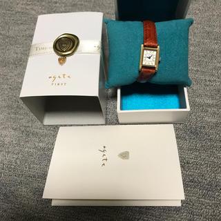 アガット(agete)のアガットファースト☆レザーウォッチ☆(*´ω`*)(腕時計)