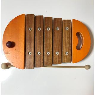 ボーネルンド(BorneLund)のボーネルンド 木琴 お魚 シロフォン (楽器のおもちゃ)