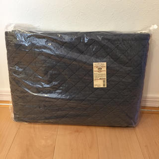 ムジルシリョウヒン(MUJI (無印良品))の新品未使用 無印良品 綿デニムキルティング 多用布 180cm×260cm(ラグ)