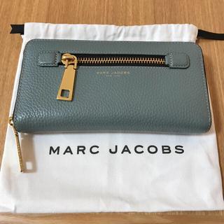ff5b497f283 マークジェイコブス(MARC JACOBS)のマークジェイコブス 水色長財布(財布)