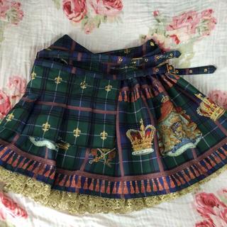 アリスアンドザパイレーツ(ALICE and the PIRATES)のAP♡Royal crown柄スカート(ミニスカート)