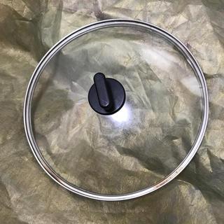 ムジルシリョウヒン(MUJI (無印良品))の無印良品 * ガラス蓋 26センチ(鍋/フライパン)